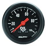 Auto Meter 2604 Z-Series 2'' Oil Pressure Gauge