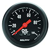 Auto Meter 2604 Z-Series Mechanical Oil Pressure Gauge