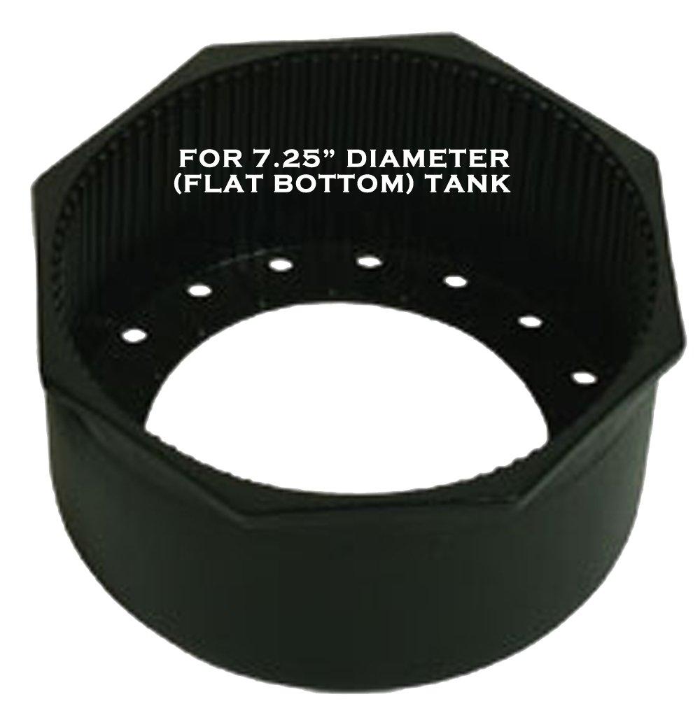 Rigid Hex Rim Tank Boot Flat Bottom JCS 7.25inch Diameter
