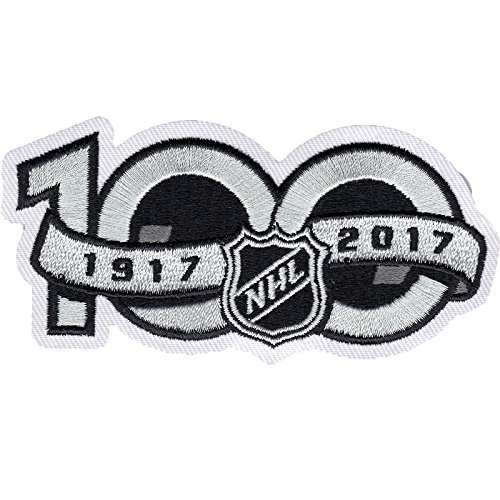 National Hockey League NHL 100th Anniversary Jersey Sleeve Logo Patch 2017 Season