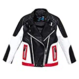 Budermmy Boys Leather Motorcycle Pilot Jackets Toddler Coats Black Size 3T