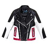 Budermmy Boys Leather Motorcycle Pilot Jackets Toddler Coats Black Size 14