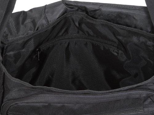 Travelite Bolso Bandolera, 25 Litros, 41 cm, Negro Negro