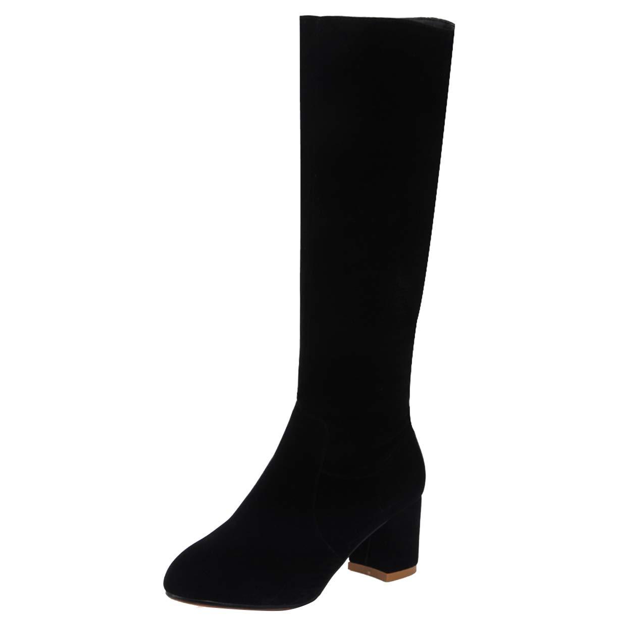 JYshoes , , Noir Bottes Classiques 8398 Femme Noir aced615 - reprogrammed.space