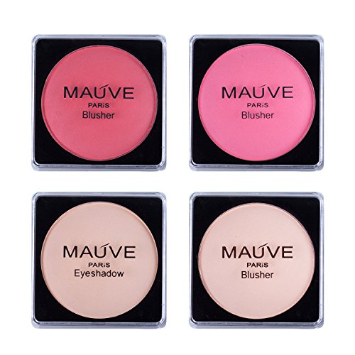 Maúve Carry All Trunk Train Case with Makeup and Reusable Black & White Aluminum Case (BLACK) 6