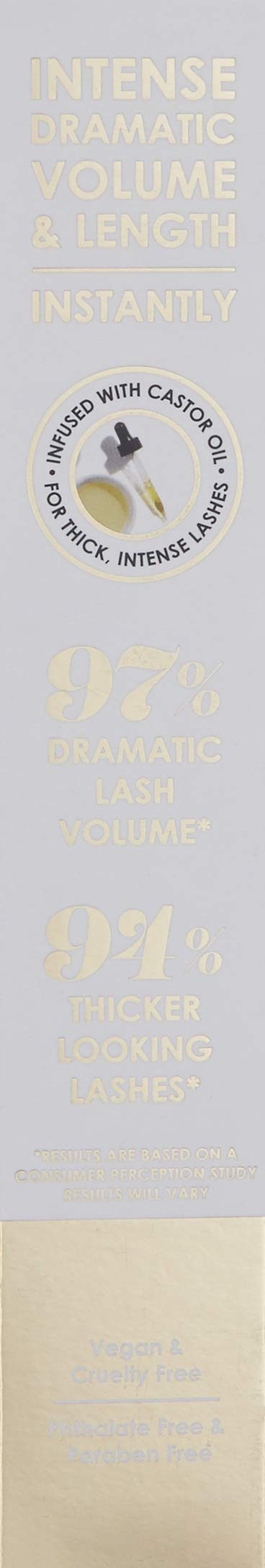 GrandeDRAMA Intense Thickening Mascara with Castor Oil by Grande Cosmetics (Image #3)