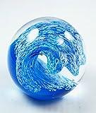 #5: M Design Art XL Ocean Wave Pattern HUGE Paperweight 01