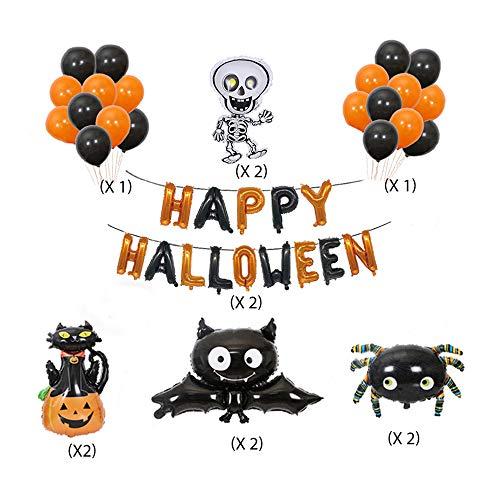 Halloween Decoration, Creative and Practical Halloween Balloons Decorations 56 PCS