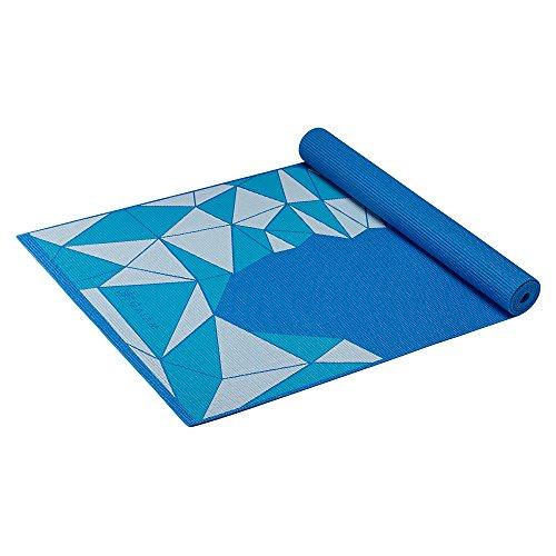 Gaiam Kids Yoga Mat, Blue Rocket,