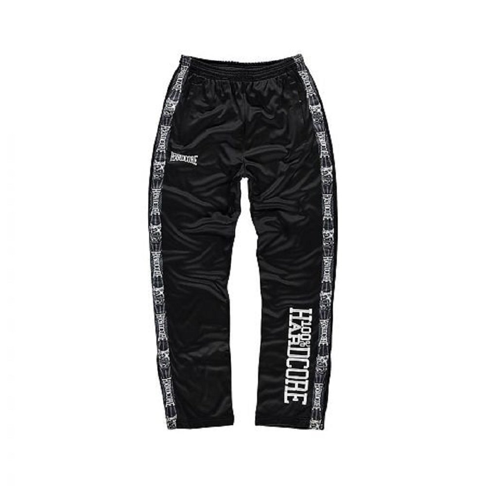 100% Hardcore Trainings Pants Logo - Schwarz