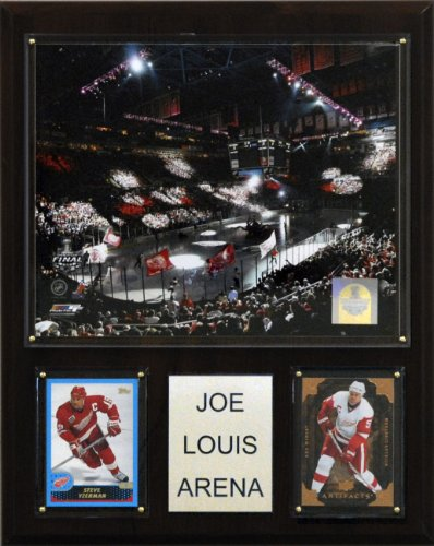 Joe Arena Louis - NHL Joe Louis Arena Plaque, Styles May Vary