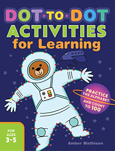 Dot to Dot Activities for Learning: Practice the Alphabet and Count to 100]()