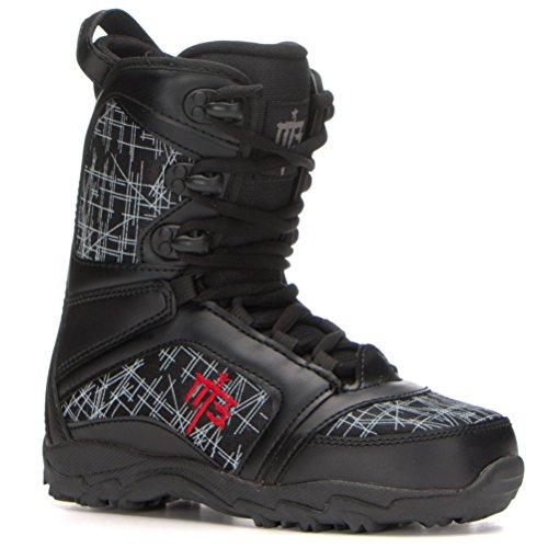 M3 Militia Junior Boy's Snowboard Boots 6 (Grom Lace Boot)