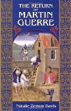 The Return of Martin Guerre by Natalie Zemon Davis front cover