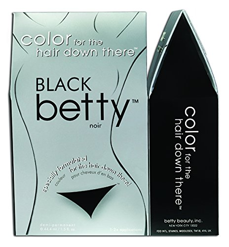 Amazon.com: Betty Beauty Color for the Hair Down There - Brown Betty ...