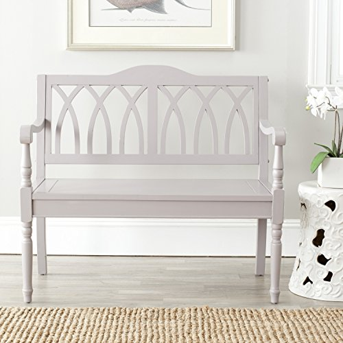 Traditional Entryway (Safavieh American Homes Collection Benjamin Grey Bench)