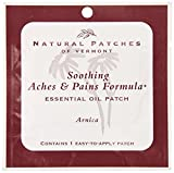 Natural Patches Of Vermont Arnica Muscle & Joint Comfort Essential Oil Body Patch, Single Patch Pouch (Pack of 6)