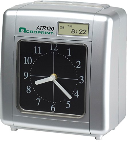 Acroprint ATR120 Electronic Top-Loading Time Recorder Time Clock