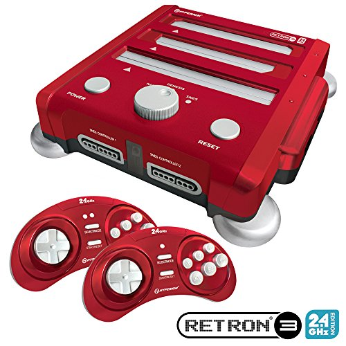 Hyperkin RetroN 3 Gaming Console 2.4 GHz Edition for SNES/ Genesis/ NES (Laser Red) post thumbnail