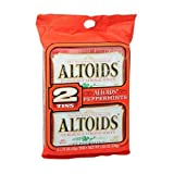 Altoids Twin Pack Mints, Peppermint 2 tins (Pack of 2)