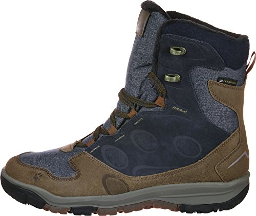 Jack Texapore Fashion Wolfskin Vancouver Boot High Blue M Brown Men's HHq7Pvxg
