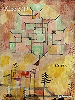 2019 Klee Poster Calendar - Art Calendar- 48 x 64 cm