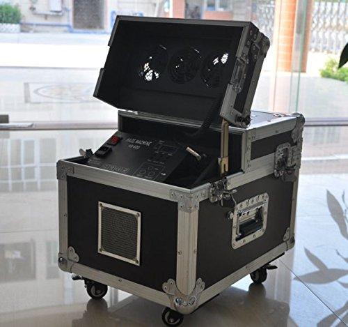 600w Dual Haze Machinnew 600w Hazer Machine Fog Smoke Machine Dmx512 with Flight Case (Haze Machine)