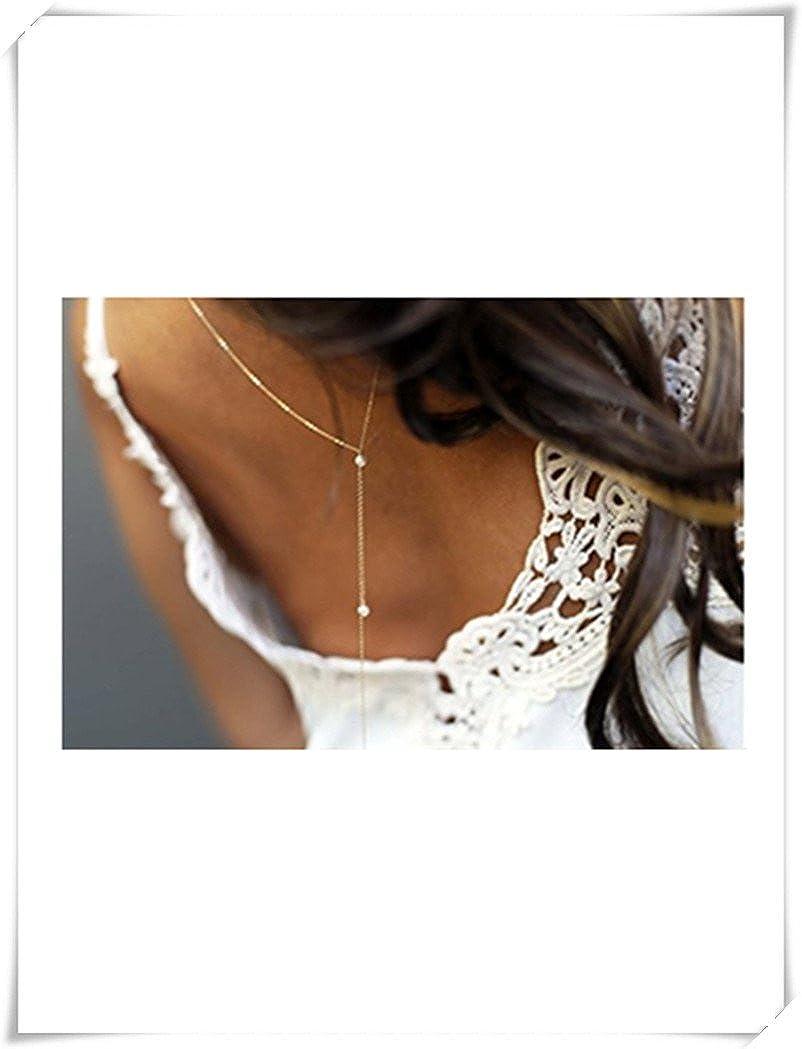 Collier de petites perles pour dos nu -Bijou de mariage pour robe dos nu ok a1