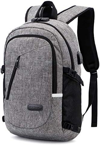 Moodar USB Charging Antithief Laptop Bag Backpack
