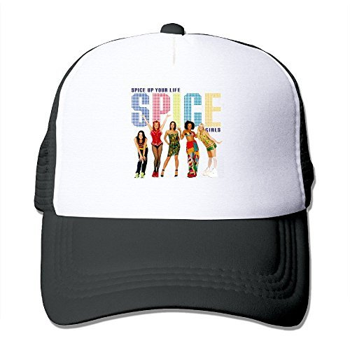 Spice Up Your Life Spice Girls Band Baseball Cap Trucker Hat For Unisex Adjustable 100% Nylon - Clothing Spice Royal