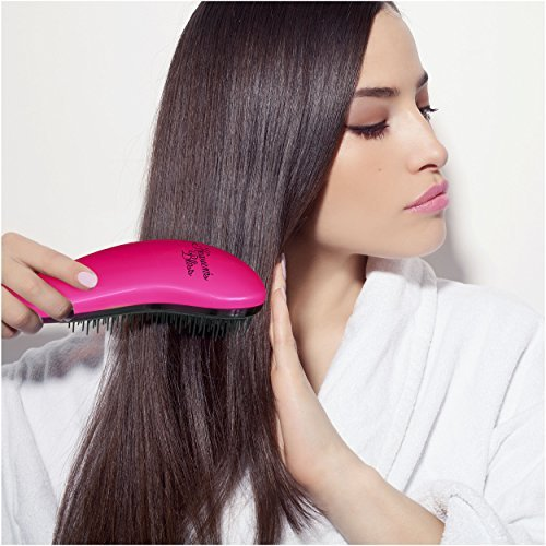 Price comparison product image Heaven's Bliss Ultimate Detangling Hair Brush (Rose Red)