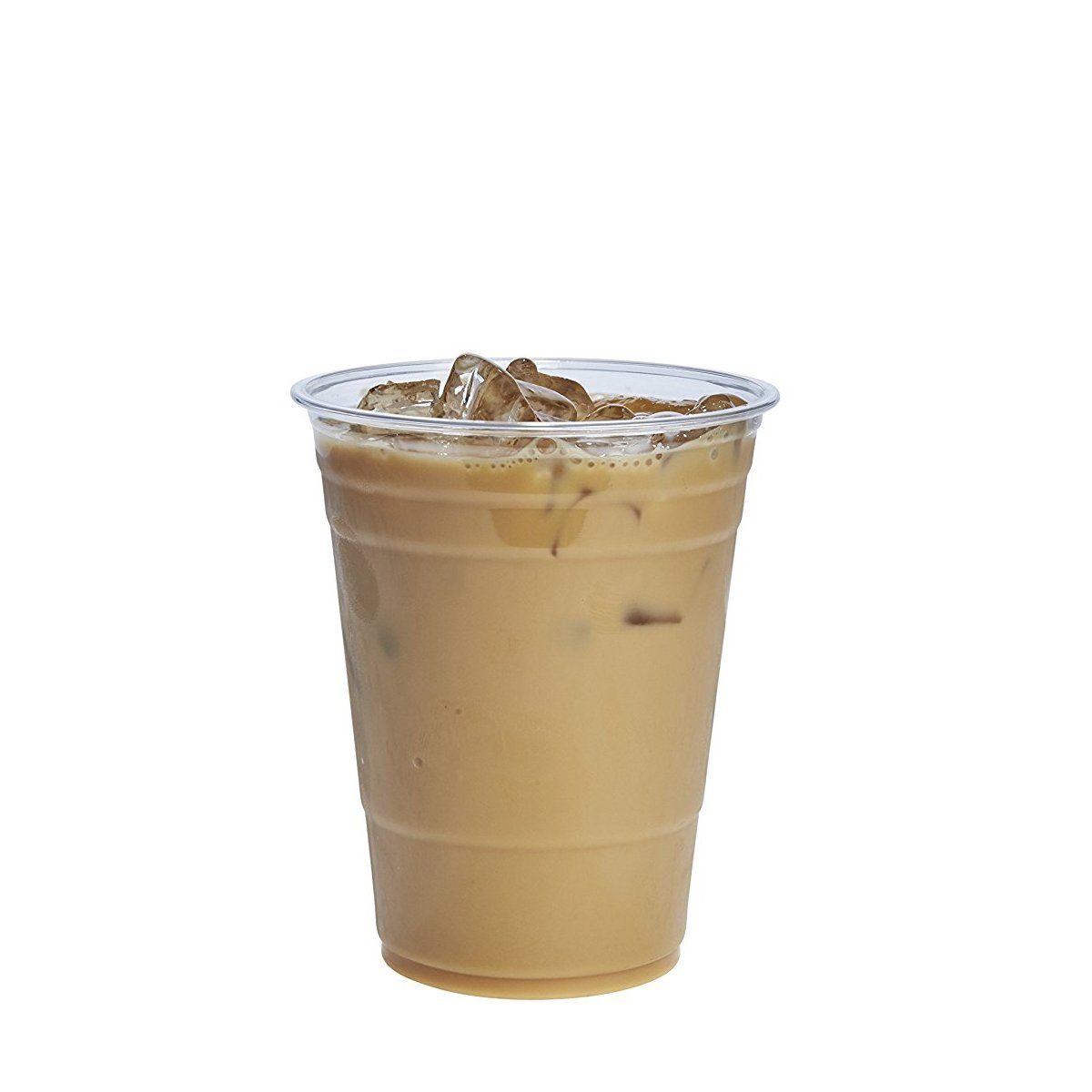 16 oz. Crystal Clear PET Plastic Cups [100 Pack] by Comfy Package (Image #1)
