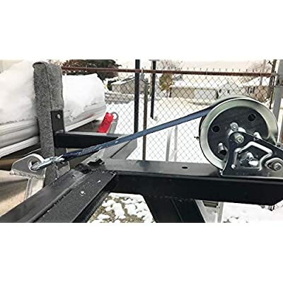 Safety2Go Marine Boat Trailer Winch Strap with Hook Replacement, 2''x20' and 3300 lbs Capacity for Boats, Trailer, Wave Runner, Towing, Heavy Duty Equipment: Home Improvement