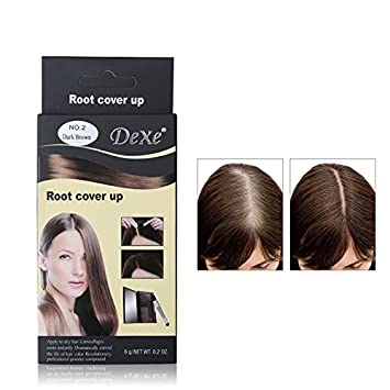 Amazon Com Dexe Temporary Hair Dye Powder Hair Become Black Brown
