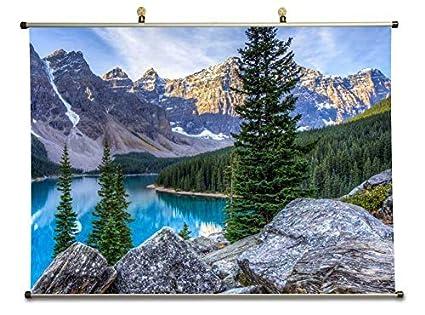 Amazon Com Tollyee Moraine Lake In Banff National Park