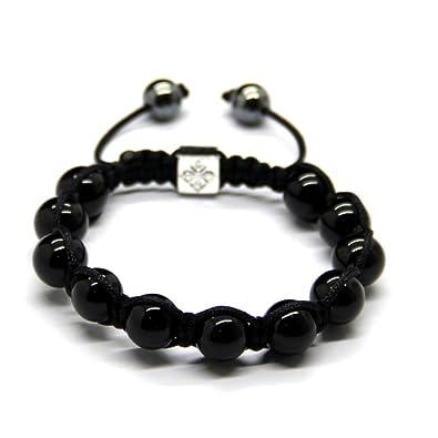 bracelet perle d'agate