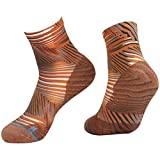 HUSO Running Ankle Socks Stylish Athletic Striped