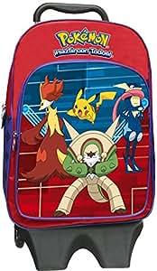 Mochila Pokemon grande con carro