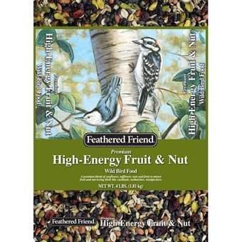 Feathered Friend High Energy Fruit & Nut Bird Food 4 - Bird Friends Food Feathered