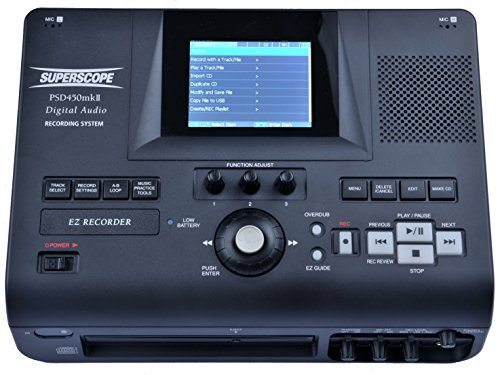 Superscope PSD450mkII-32 Digital Audio Recorder by Superscope