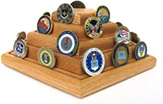 product image for Flag Connections Geocoins Display, Geocoins Coin Holder, Military Geocaching