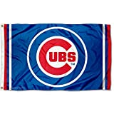 WinCraft Chicago Cubs Circle Logo Flag