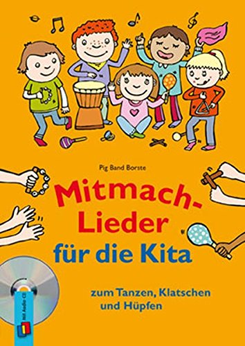 Mitmach-Lieder für die Kita: zum Tanzen, Klatschen und Hüpfen
