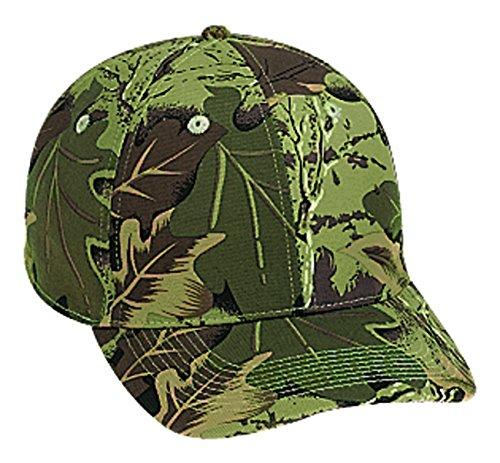 Otto Flex Stretchable Camouflage Cotton Twill Low Profile Pro Style Caps