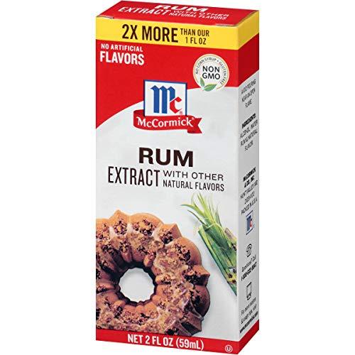 Rum Extract - McCormick Rum Extract, 2 fl oz