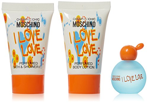 Moschino Fragrance Set, I Love Cheap and Chic, 3 Count