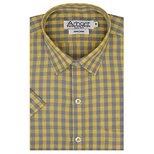 Arihant Men's Regular Fit Formal Shirt