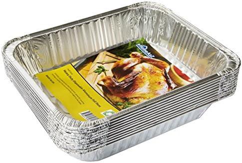 eHomeA2Z Aluminum Pans Half Disposable product image