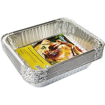 Amazon Com Ehomea2z Aluminum Pans Half Size Disposable 9
