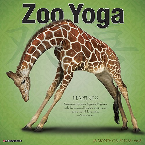 Zoo Yoga 2018 Wall Calendar (Yoga Calendar Cat)